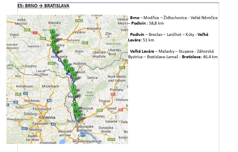 Our road map in Slovakia