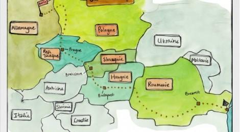 Notre itinéraire en Roumanie