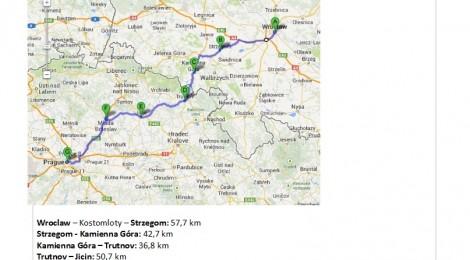 Notre itinéraire en République Tchèque