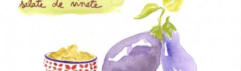 * Recette * Salate de Vinete